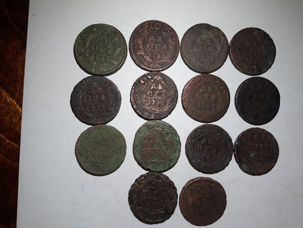 монеты деньга, денга