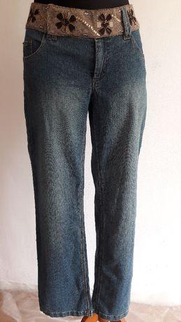 """Nowe jeansowe spodnie rozm. 40 firmy """"Friendtex"""""""