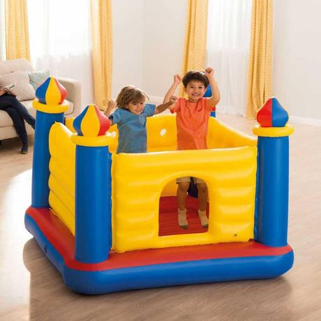 Батут детский Intex 48259 Игровой замок.