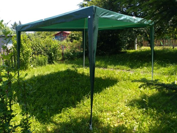 [Prawie Nowy] Pawilon Ogrodowy | Zielony | 3 X 3 X 2.45 | 9 m2