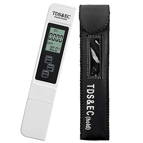 Hidroponia - Medidor de TDS / EC e Temperatura - Loja Oficial Marvila - imagem 1