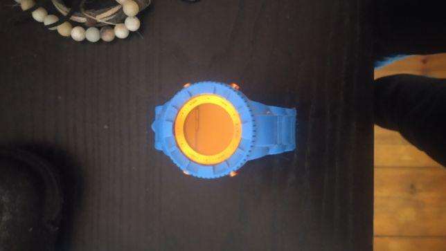 Relógio Watx&Colors Laranja e azul