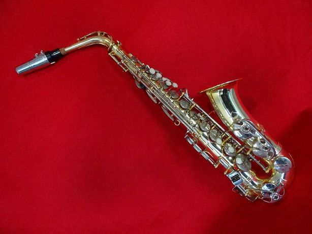 Saxofone Marca Weril com estoijo