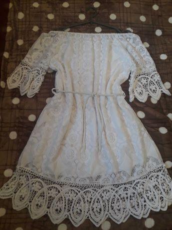 Платье ажурное 44-50 размер