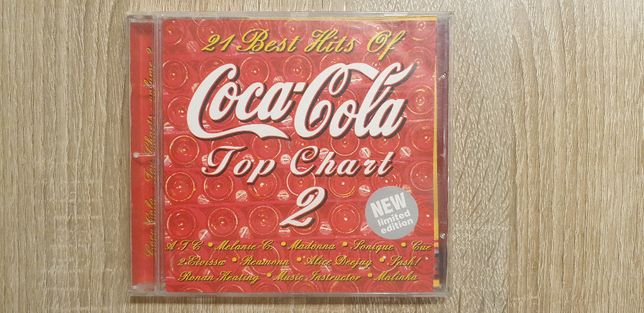 Coca Cola_Top Chart 2_Składanka_Płyta CD