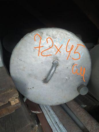 Бак накопительный из нержавеющего металла/ канистра/