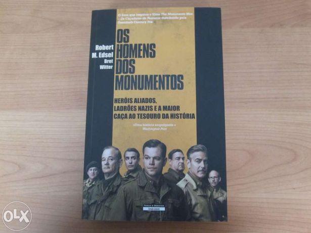 """Livro novo """"Os Homens dos Monumentos"""""""