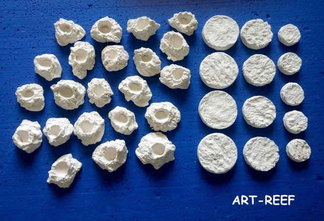 Podstawki ceramiczne,ART-REEF,akwarium morskie