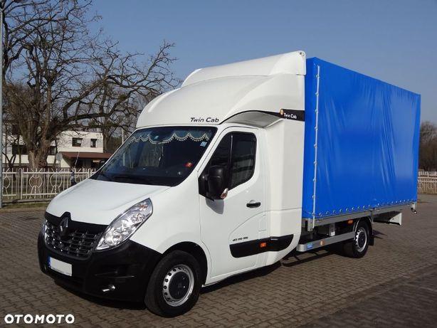 Renault Master 170KM TwinCAB  Plandeka 4,20m  2018r TWINCAB Regulacja wysokości IDEALNY!