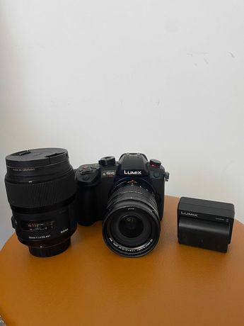 Panasonic GH5S Lumix4K+LUMIX G LEICA 12-60 F/2.8-4.0 + Sigma 35 1.4 DG