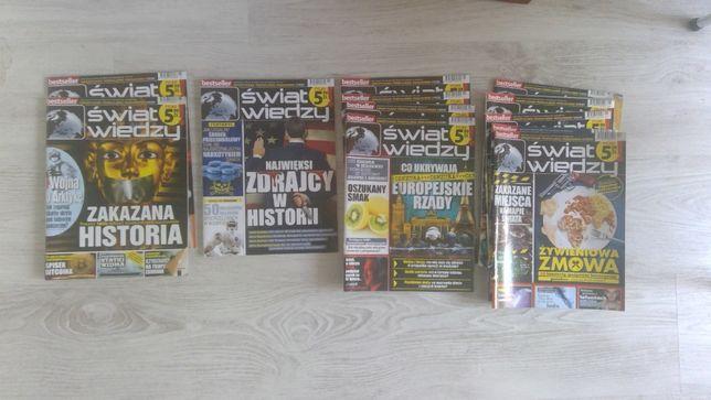 świat wiedzy - zestaw 11 czasopism