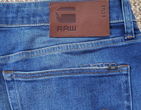 G-STAR RAW 3301 Slim джинсы синие оригинал W33 L34