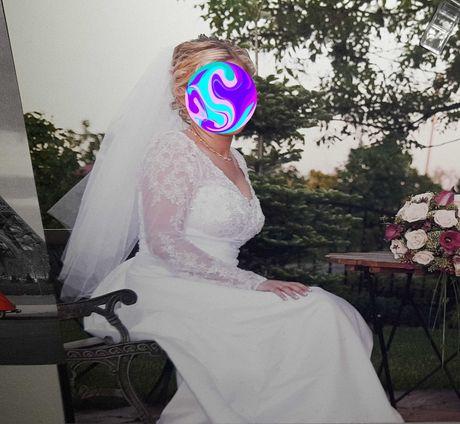 Sukienka ślubna rozm 42