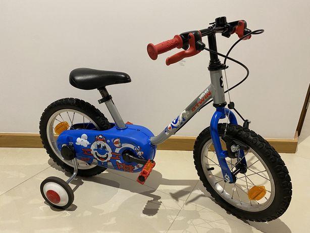 Rower B'TWIN Chłopiec/dzi, DECATHLON,14 cali,Stan bdb,wysyłka w cenie!