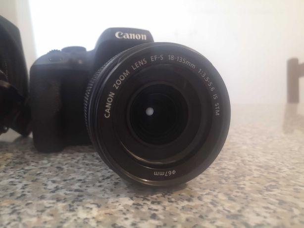 Canon EOS 750D + EF-S 18-135mm f/3.5-5.6 IS STM + Mochila