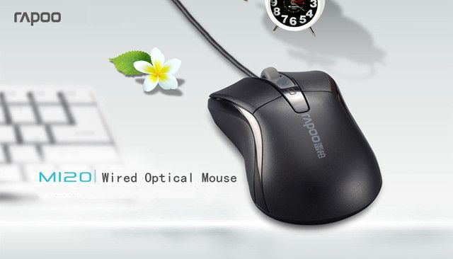 Rapoo M120 USB игровая мышь компьютерная офисная мышь для ноутбука