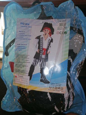 Fato de carnaval pirata