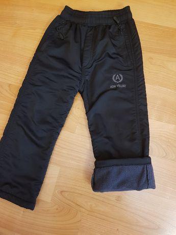 Утеплённые штаны р.104-110