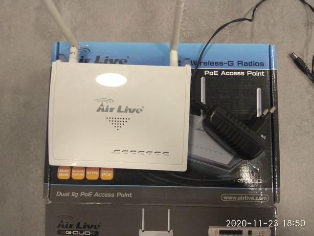 Router Air live 2x wireless-G G Duo AP Retransmiter internetu