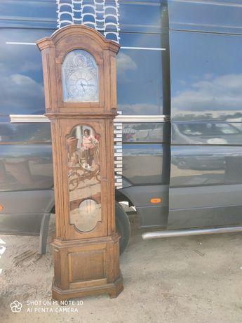 Zegar stojący dębowy holenderski