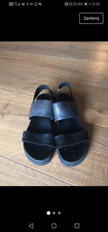 Skórzane sandały Wojas