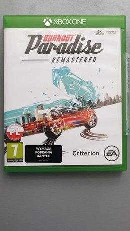 BURNOUT Paradise Remastered, Xbox one PL