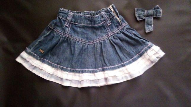 Джинсовая юбка на девочку  Zeplin 110 cм 5 лет