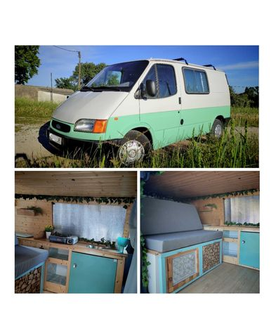 Ford Transit 2.5D Drive Campervan - Refeita de novo