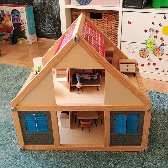 Drewniany domek dla lalek z wyposażeniem Kraków - image 1