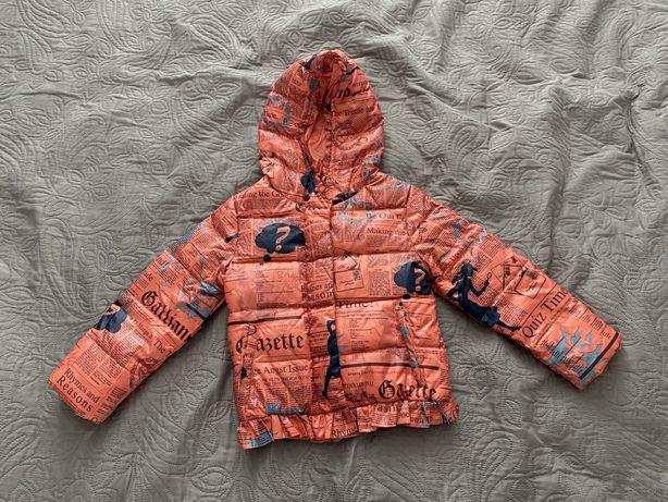 Куртка на весну на девочку 2,5-3 года (92-98)