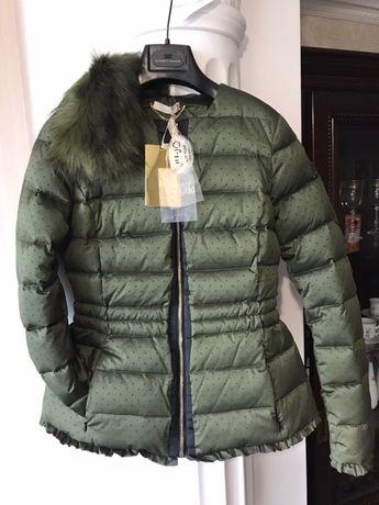 Новая курточка пуховик Liu jo