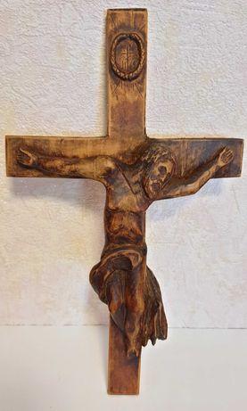Изделие из дерева «Распятие Христа» и «Девушка», ручная работа