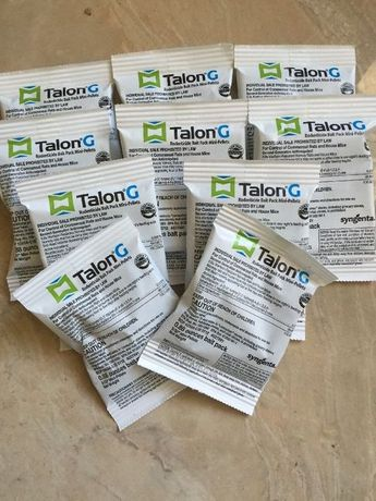 Мощное средство от мышей и крыс. Talon G. (Syngenta). Яд от мышей