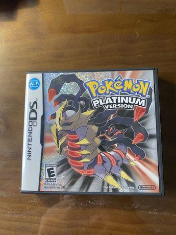 Pokemon Platinum CIB - nintendo ds