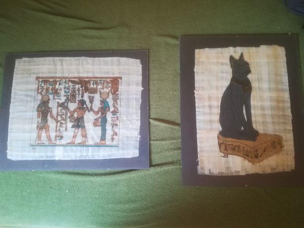 papirus z Egiptu w antyramie