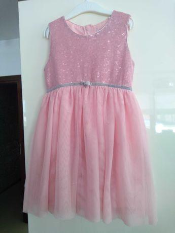 Sukienka z cekinami 122