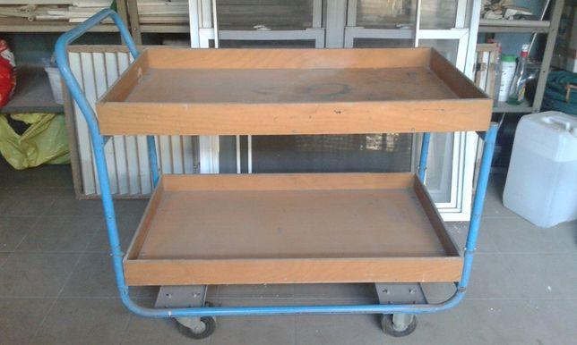 Wózek warsztatowy półkowy i platformowy