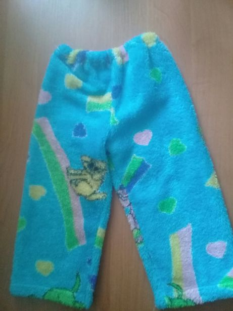 Штаны махровые пижамные