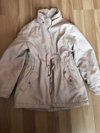 Детская зимняя парка куртка курточка 7 8 лет h&m