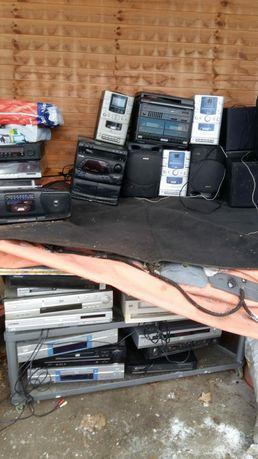 Sprzęt RTV radia, DVD, wieże, głośniki, gramofon