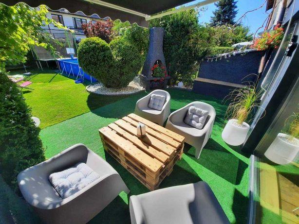 Dom na wynajem z basenem i trampoliną/wakacje- Gdańsk/Sopot/Gdynia,