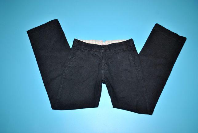Брюки женские серые широкие теплые штаны бренд White Stuff с карманами