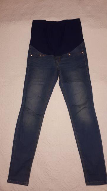 Spodnie jeansy ciążowe H&M r.40