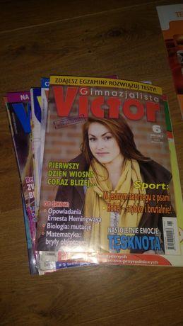 Victor gimnazjalista oraz materiały gimnazjalne i licealne