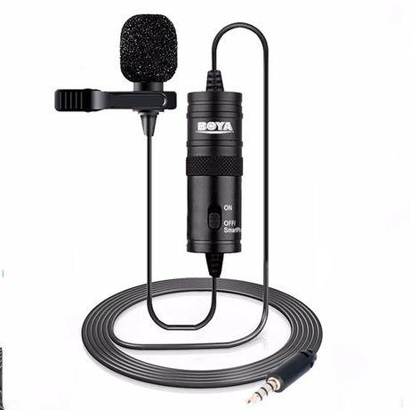 Микрофон петличный (петличка) BOYA BY-M1 для смартфона, камеры