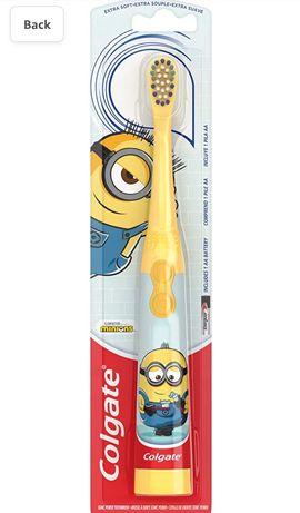 Дитяча електрична зубна щітка Golgate