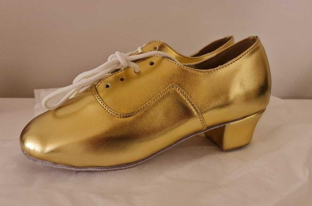 Sapato de Dança Dourado NOVO