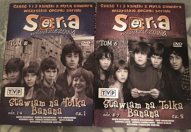 Stawiam na Tolka Banana cz. 1, cz. 2 - płyta dvd - nowa