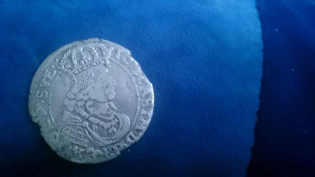 Монета Шестак 6 грошей 1661р 100% орг.