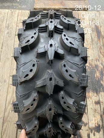 Резина, шина, колесо для квадроцикла ATV QIND 26X9-12, 26X10-12